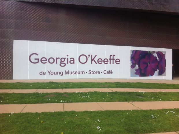 O'Keeffe at the DeYoung